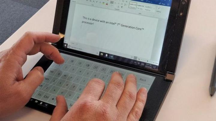 Intel представил устройство с двумя дисплеями (фото)
