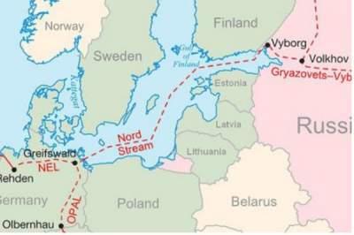 Суточный объем транзита газа по территории Украины вырос на 10%