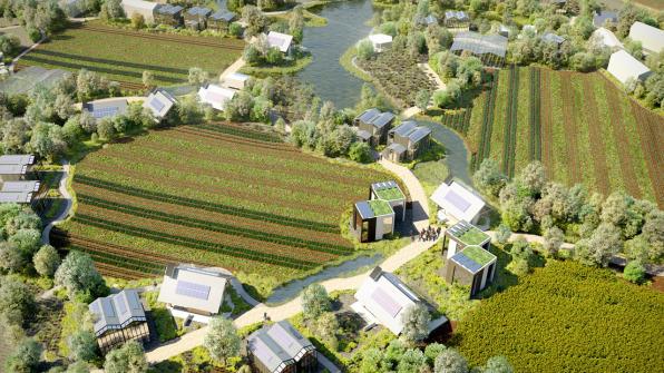 В Нидерландах появится «деревня будущего» на блокчейне