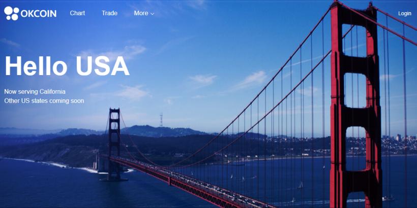 Состоялся запуск биржи OKCoin USA