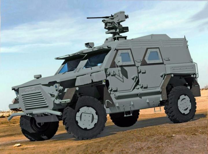 В Украине создадут новый тактический бронеавтомобиль (фото)