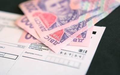 Долги украинцев за коммунальные услуги растут