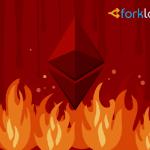 За сутки балансы криптобирж уменьшились на полмиллиона монет Ethereum