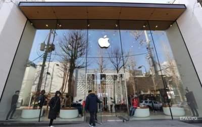 Apple за месяц потеряла доход за первые 30 лет работы