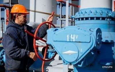 Запасы газа в ПХГ Украины резко снижаются