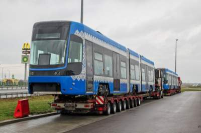 Киев получил все заказанные польские трамваи Pesa