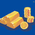 Цена биткоина стала теснее коррелировать с «индексом страха» VIX и золотом