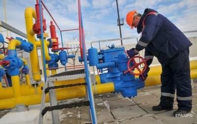 Украина получила 1 января из Европы лишь 6,5 млн кубов газа