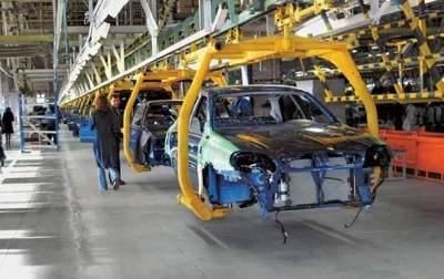 Производство украинского автопрома упало