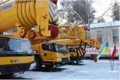 Китай передаст партию техники для украинских спасателей