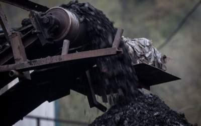 В Украине падает добыча угля