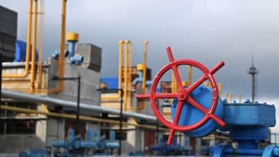 В украинских хранилищах сократились запасы газа