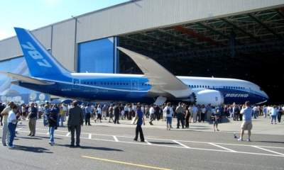 В Украине будут ремонтировать самолеты Boeing
