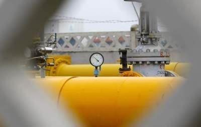 Запасы газа в украинских хранилищах снизились на 40%