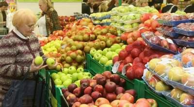 Как росли цены в феврале на овощи, фрукты и алкоголь