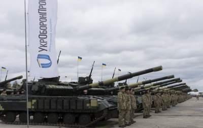 Украина на 12 месте в мире по объему проданного вооружения