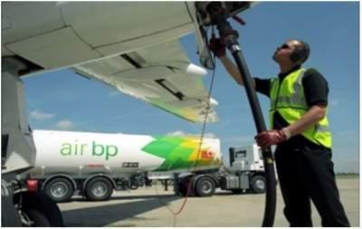 Импорт авиационного топлива сократился в два раза